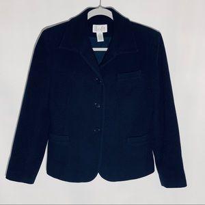 LOFT navy wool jacket/blazer, size 6P